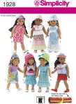 Doll Clothes, dresses, skirts, tops, hats