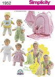 Doll Clothes, hat, shoes, child sized back pack