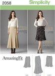 Misses´ & Plus Size Amazing Fit Skirt