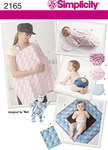 Simplicity 2165. Baby Accessories.