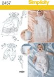 Simplicity 2457. Babies´ Special Occasion.