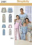 Adult/Teen/Child Sleepwear.