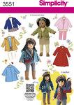 Doll Clothes, coats, jackets