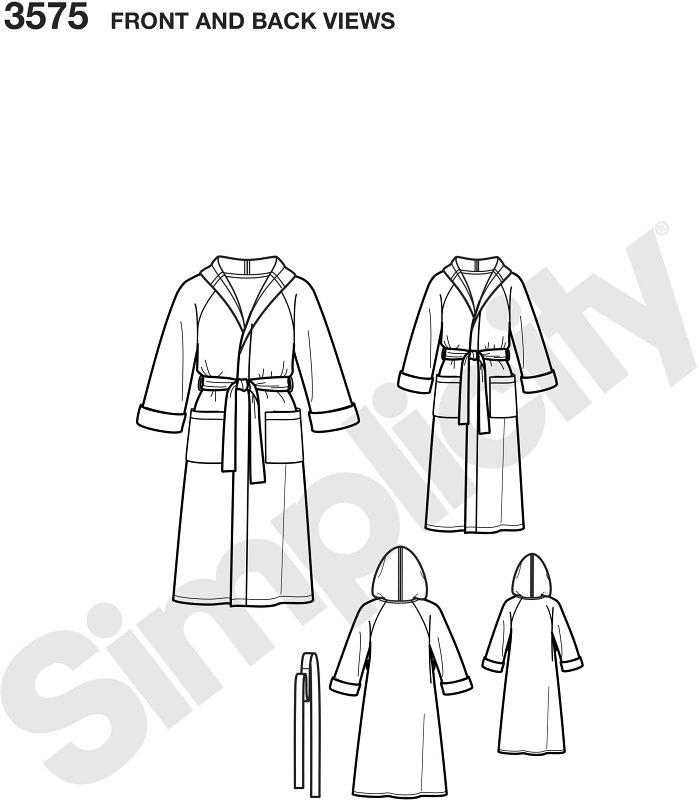 Unisex Child, Teen and Adult Robe