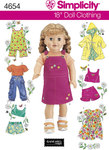 Doll Clothes, bibs, coats, shorts, dresses