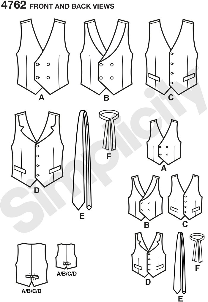 Boys´ and Men´s Vests and Ties