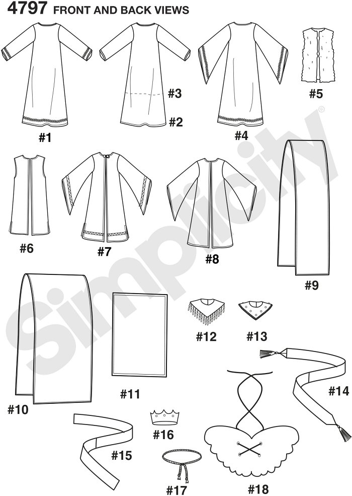 Boys´ and Girls´ Nativity Costumes.