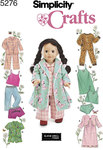 Doll Clothes, Sleepwear and Loungewear