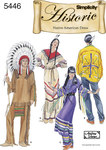 Men and Women Native American Wardrobes