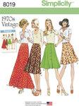 Misses´ Vintage 1970´s Skirts