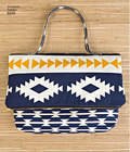 This great everyday bag pattern features large & small cross body or over the shoulder purse, small clutch and wristlet. Sweet Pea Totes for Simplicity. See envelope back tab for more details.