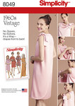 Simplicity 8049. Misses´ Vintage 1960´s Three Armhole Dress.