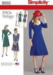 Vintage 1940´s Dress Pattern