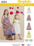 Child´s and Girls´ Dresses and Bolero