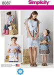 Child´s and Misses´ Pullover Dress and Top