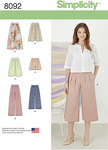 Misses´ Skirts, Trousers, Culottes and Shorts