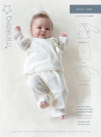 Baby sweat suit. Minikrea 10404.