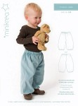 Lovely and simpel and classic pants for girls and boys. Good loose fit with room for movement.