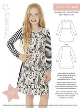 Teen jersey dress. Minikrea 40040.