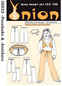 Baggy pants and knickers. Onion 30022.
