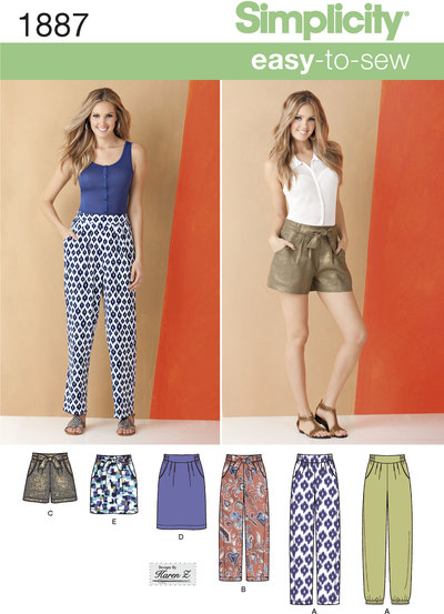 Misses´ Trousers and Skirts