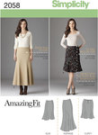 Misses´ and Plus Size Amazing Fit Skirt