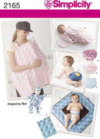 Baby Accessories. Simplicity 2165.