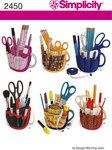 Craft, scissor and pencil organizer, sytilbehør