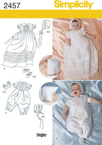 Babies´ Special Occasion. Simplicity 2457.