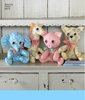 Two Pattern Piece Stuffed Animals