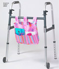 Hanging organizer for walker and wheel chair