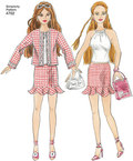 Doll Clothes 11½ inch, dresses, skirts, tops