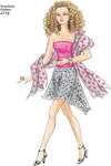 Doll Clothes 11½ inch, wedding, evening, skirts