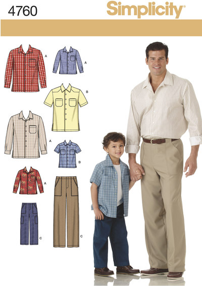 Boys and Men Shirts and Trousers