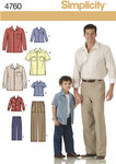 Boys´ and Men´s Trousers and Shirt