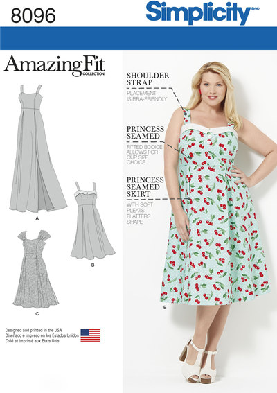 Amazing Fit Plus Size Dresses