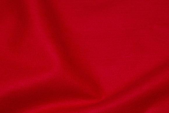 Red hobby-felt in 180 cm width