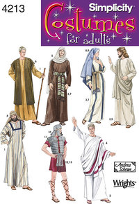 Adult Costumes. Simplicity 4213.
