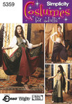 Simplicity 5359. Belly Dancing Costumes.