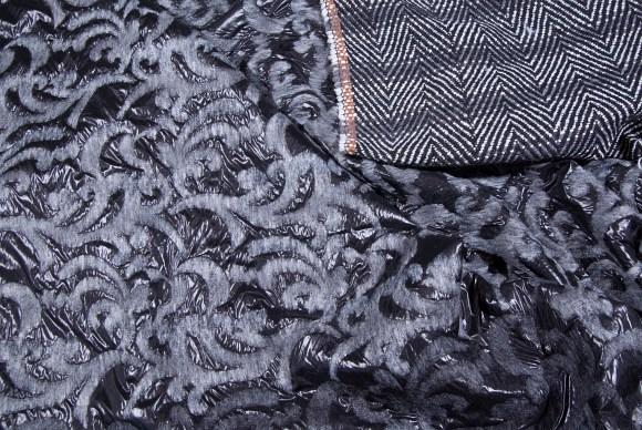 2-sided, stripes and felt pilot-nylon in beautiful combo