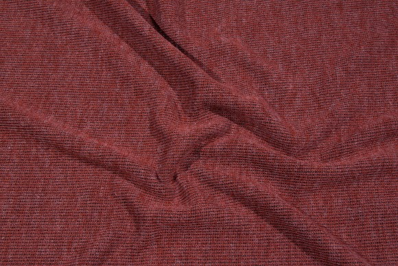 Rust-colored mediumthick knit