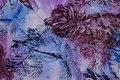 Cotton-voile in purple nuances