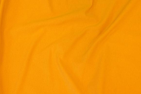 Lightweight sweatshirt fabric in dark yellow