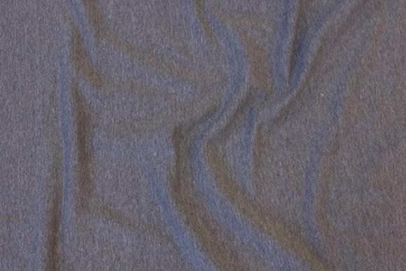 Lightweight sweatshirt fabric in speckled grey