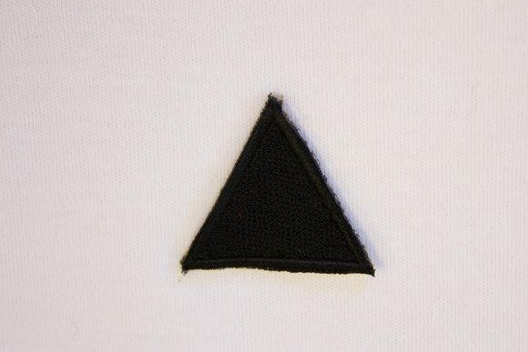 Black triangle patch 3cm
