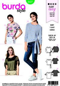 Burda pattern: T-shirt, blouse
