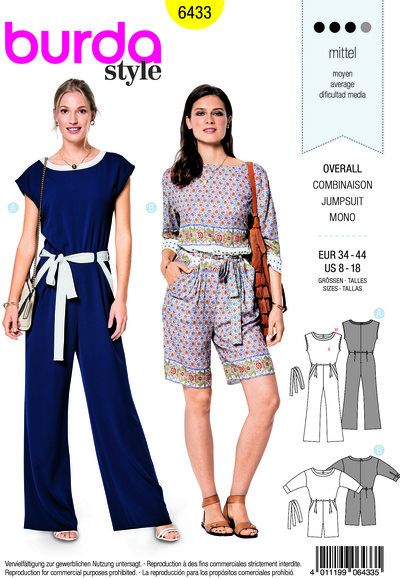 Jumpsuit with waistband
