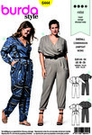 Burda 6444. Jumpsuit, kombinationer.