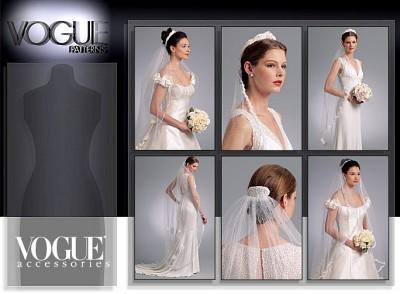 Headpieces, tiara and bridal veils