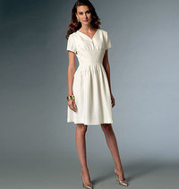 Vogue 9046. Dress, Claire Shaeffer.